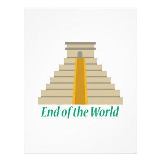 End Of World Letterhead