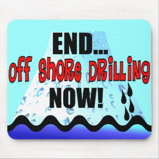 END OFF SHORE DRILLING NOW MOUSE PAD
