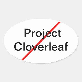 End Project Cloverleaf Sticker