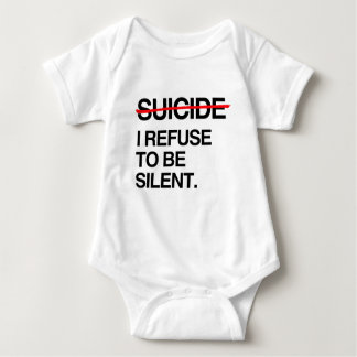 END SUICIDE I REFUSE TO BE SILENT INFANT CREEPER