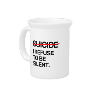 END SUICIDE I REFUSE TO BE SILENT PITCHERS