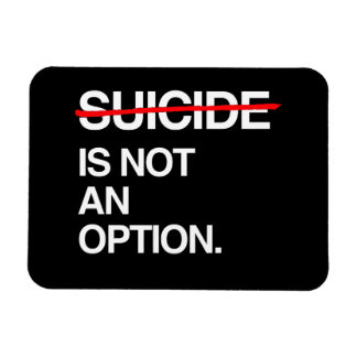 END SUICIDE IT IS NOT AN OPTION MAGNET