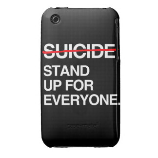 END SUICIDE STAND UP FOR EVERYONE iPhone 3 Case-Mate CASE