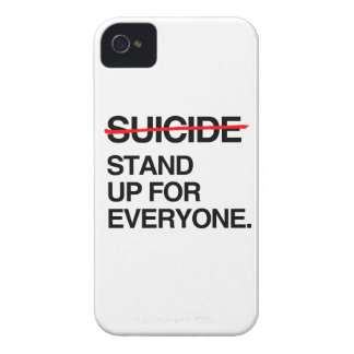 END SUICIDE STAND UP FOR EVERYONE iPhone 4 Case-Mate CASE