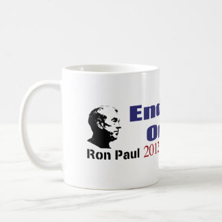 End Taxes On Tips Vote Ron Paul in 2012 Classic White Coffee Mug