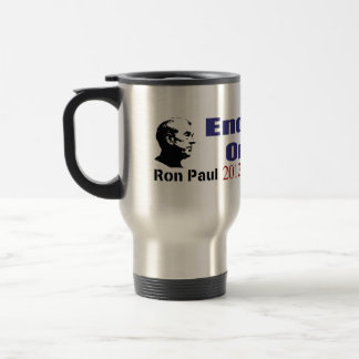 End Taxes On Tips Vote Ron Paul in 2012 Mugs