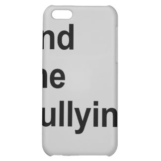 end the bullying iPhone 5C covers