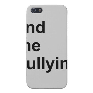 end the bullying iPhone 5 cover