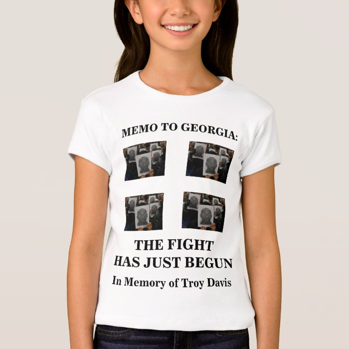 End the Death Penalty, In Memory of Troy Davis T-Shirt