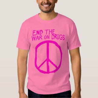 End The Failed War On Drugs Tee Shirt
