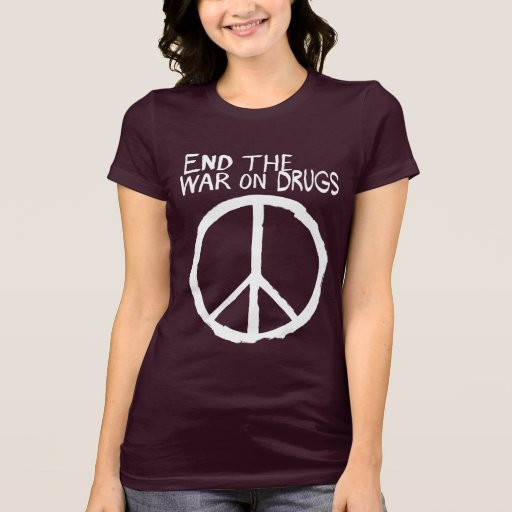 End The Failed War On Drugs T-shirts