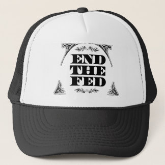 End The Fed :: $17.95 (11 colors) Trucker Hat