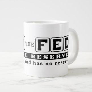 End the Fed 20 Oz Large Ceramic Coffee Mug