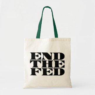 End The Fed Canvas Bag