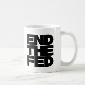End The FED Classic White Coffee Mug