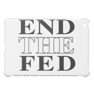 End The Fed Defeat the Largest Bank Monopoly Cover For The iPad Mini