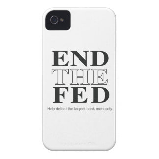 End The Fed Defeat the Largest Bank Monopoly iPhone 4 Cover