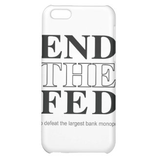 End The Fed Defeat the Largest Bank Monopoly iPhone 5C Case