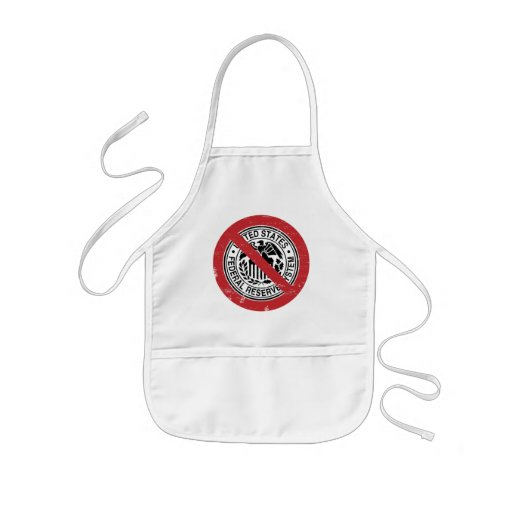 End the Fed Federal Reserve Libertarian Kids' Apron