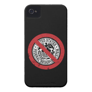 End the Fed Federal Reserve Libertarian iPhone 4 Case-Mate Case