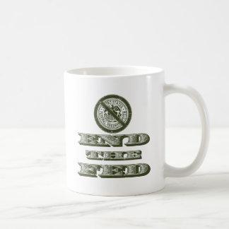 End the Fed Federal Reserve Libertarian Classic White Coffee Mug