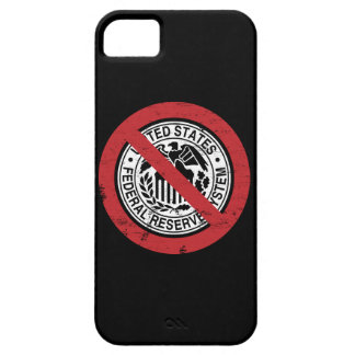 End the Fed Federal Reserve Libertarian iPhone SE/5/5s Case