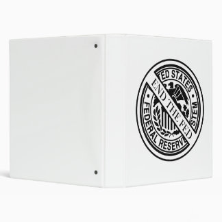 End The Fed Federal Reserve System 3 Ring Binder