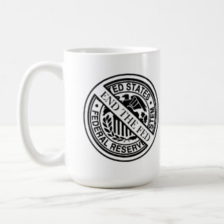 End The Fed Federal Reserve System Classic White Coffee Mug