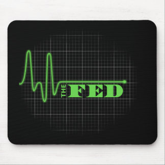 End the Fed Flat lined Mouse Pad