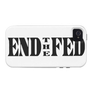 END THE FED Ron Paul for President Case For The iPhone 4