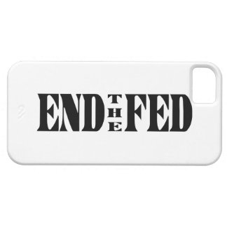 END THE FED Ron Paul for President iPhone SE/5/5s Case