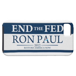 End The Fed Vote Ron Paul in 2012 Restore America iPhone SE/5/5s Case