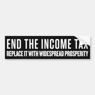 End the Income Tax Bumper Sticker