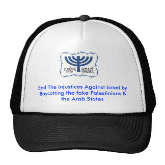End the Injustice Against Israel Trucker Hats