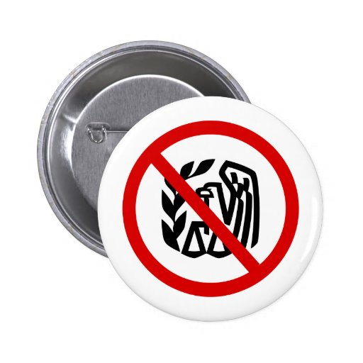 End The IRS 2 Inch Round Button