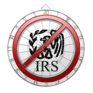 End the IRS Internal Revenue Service Taxes Dart Boards