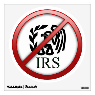 End the IRS Internal Revenue Service Taxes Room Graphics