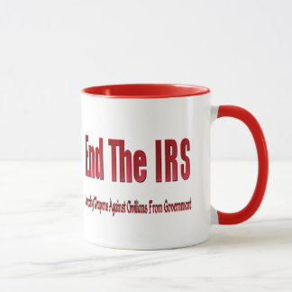 END THE IRS MUG