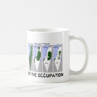 End the Occupation Classic White Coffee Mug