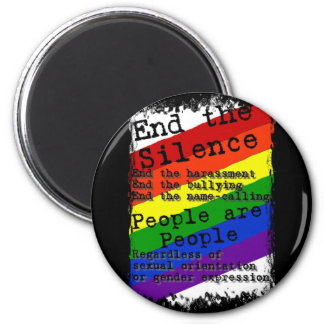 End the Silence Magnet
