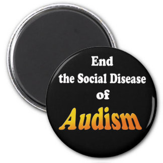 End the Social Disease of Audism Magnet