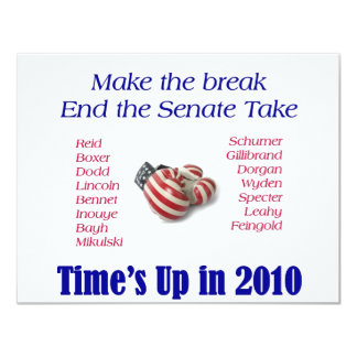 End the Take Vote Republican 2010 Card