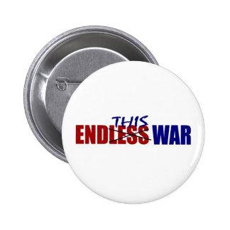 End This War 2 Inch Round Button