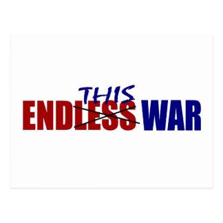 End This War Postcard