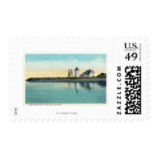 End Tip of Cape Cod View of Long Point Postage