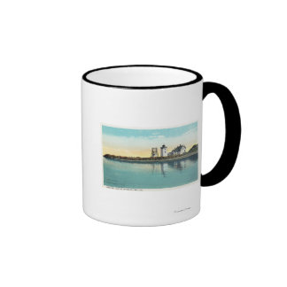 End Tip of Cape Cod View of Long Point Ringer Mug