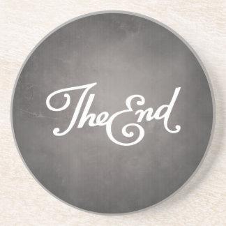 End Title Card coaster