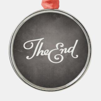 End Title Card ornament