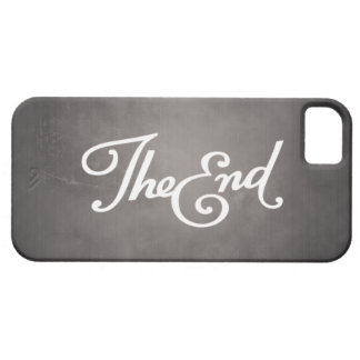 End Title iPhone 5 Covers