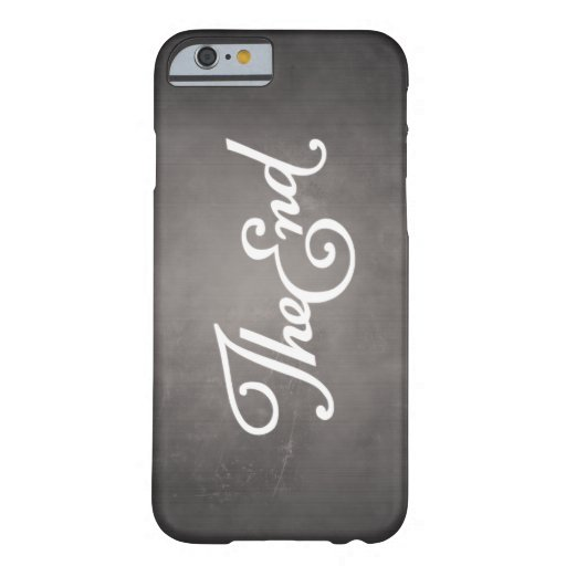 End Title iPhone 6 Case